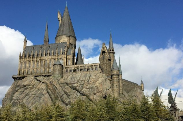 Hogwarts from the Harry Potter series
