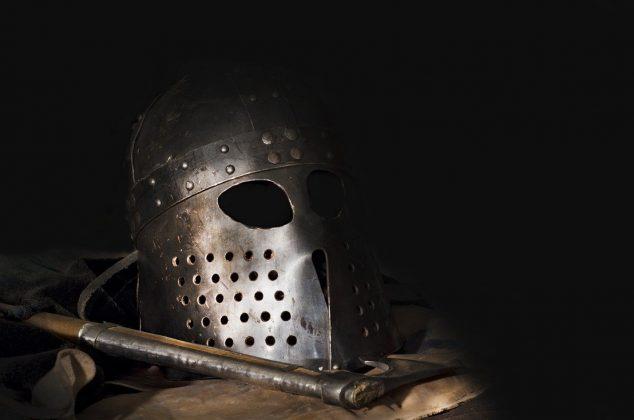 Viking helmet and gear